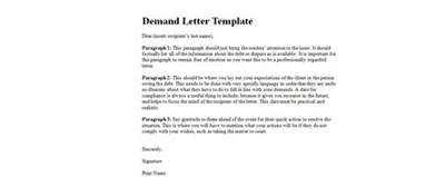 Demand Letter Meaning Inquiry Letter For Clarification Of Terms Exle