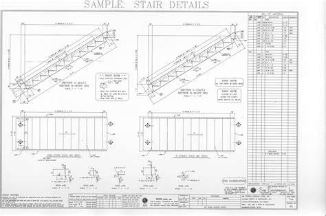stair section detail dwg steel stair details drawings luoghi da visitare