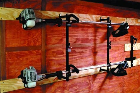 landscape trailer racks buyers lt12 3 trimmer landscape truck trailer enclosed rack outdoorandabout