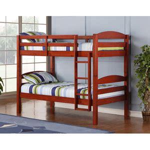 amazon loft bed amazon com we furniture twin twin solid wood bunk bed