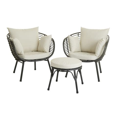 wilko garden egg lounge set rattan effect at wilko com