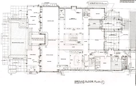 Luxury Estate Plans | luxury estate floor plans modern house