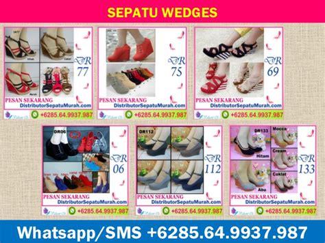 Sepatu Wedges Wanita Fasw55 Murah sepatu wanita wedges shop wedges shop murah 62 8564
