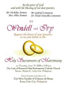 wedding invitations wording sles wedding invitation ideas wedding invite wording