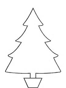 Christmas ornament outline printable christmas tree template