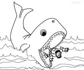 jonah and the whale coloring pages printable jonah and the whale coloring pages for