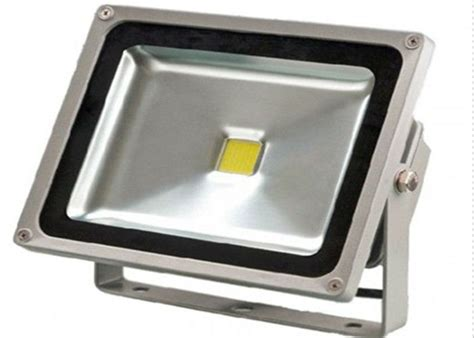 50w 7500lm waterproof led flood light cold white 80 cri