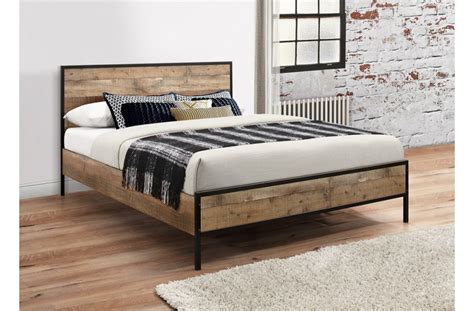 Rustic Metal Bed Frames by Birlea Metal Bed Frame Rustic From The Bed Station