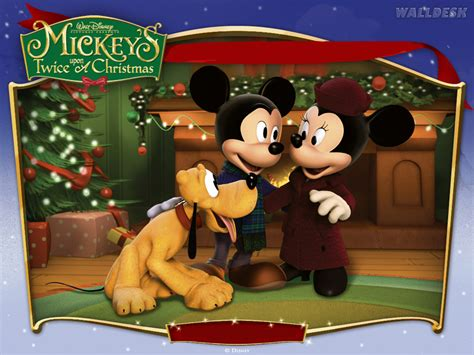 wallpaper disney natal mickey minnie e pluto no natal pap 233 is de parede para pc