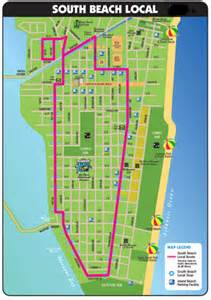 map of south miami florida south map miami transportation