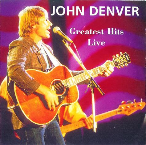 format live cd john denver greatest hits live cd at discogs