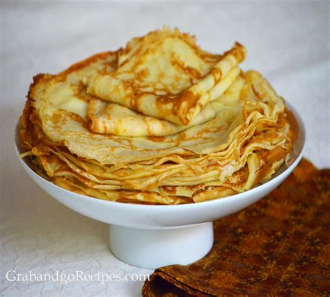 basic thin crepes recipe