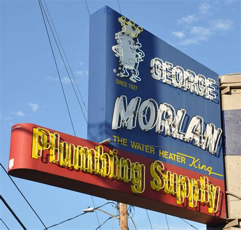 Morlan Plumbing by Plumbing Signs Roadsidearchitecture