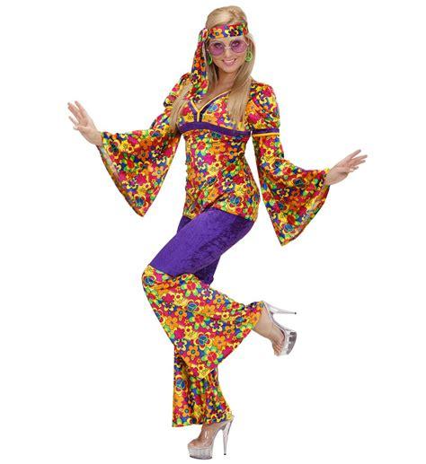 foto hippie figli dei fiori costume carnevale donna hippie anni 60 ps 19776 figli