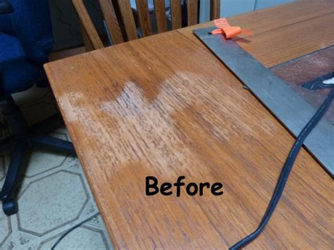 white stain  teak table woodworking talk woodworkers