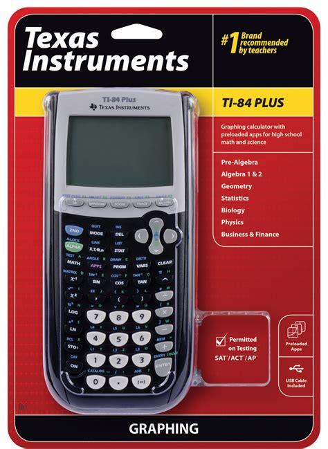 calculator level 84 new ti 84 plus graphing calculator 10pack retail