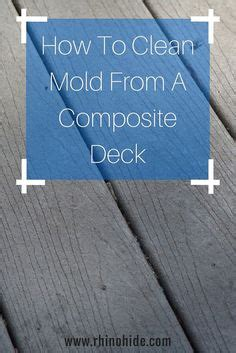 mistakes  avoid  cleaning  composite deck