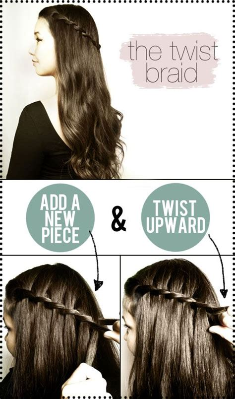 how to do the twist braid step by step latest party hairstyles tutorial step by step 2018 2019