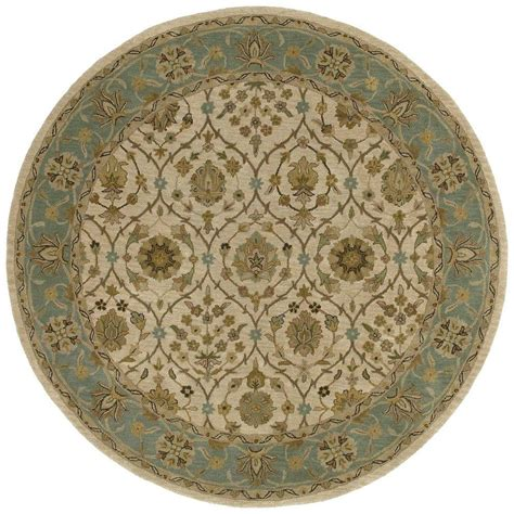 9 x 9 rug kaleen tara palma ivory 9 ft 9 in x 9 ft 9 in area rug 7710 01 9 9 rnd the home depot