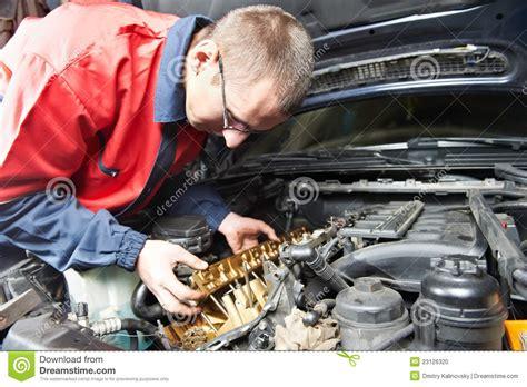car engine service automobile maintenance vector illustration cartoondealer