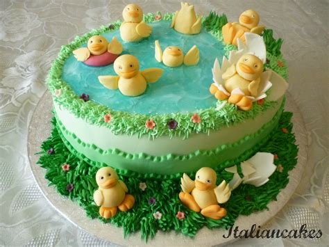 how to decorate the cake at home decorate a birthday cake with ducks italiancakes