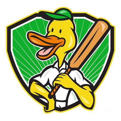 cricket duck duck cricket player batsman digital by