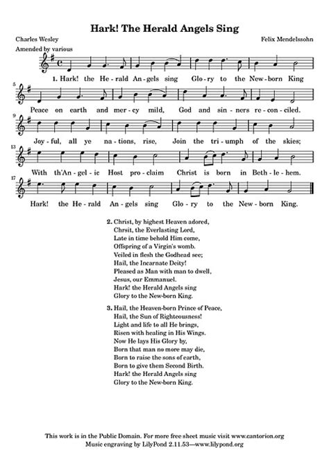 hark the herald sing testo hark the herald sing voice sheet