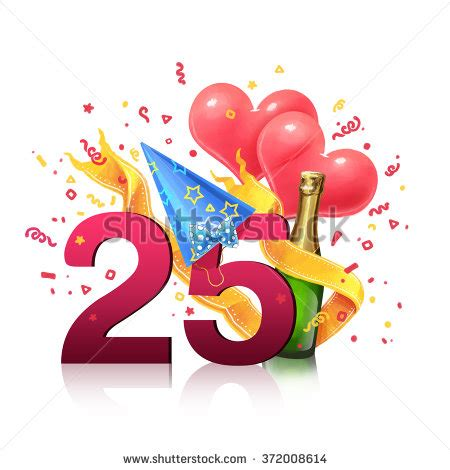 number one gift of the year 25 birthday stock images royalty free images vectors