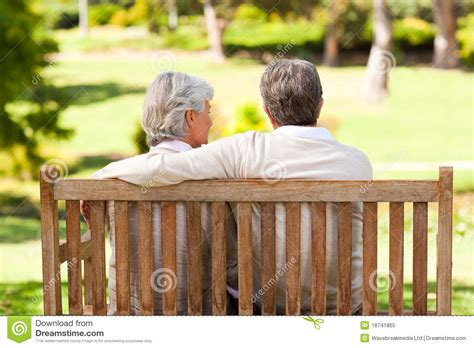 lovers bench lovers on the bench royalty free stock photo image 18741865