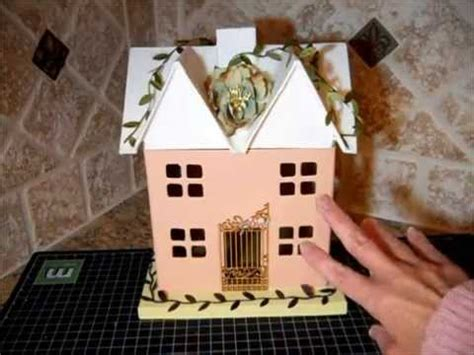 How To Make Paper Mache Houses - altered paper mache house boxes set of 3