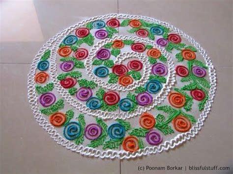 rangoli innovative themes easy multicolored spiral rangoli innovative rangoli