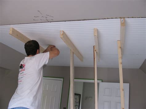Ceiling Materials Ideas by Our Creative Beadboard On The Ceiling Are You Serious