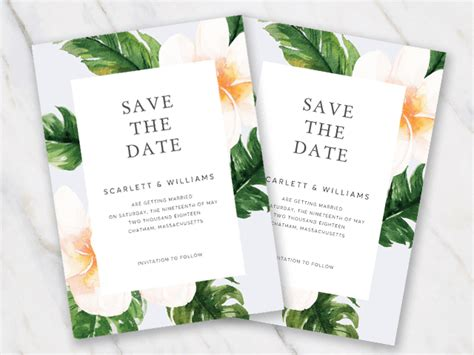 free wedding save the date templates save the date templates for word 100 free