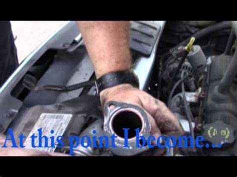 2004 chrysler pacifica thermostat replacement how to replace the thermostat on a 2005 chrysler town and