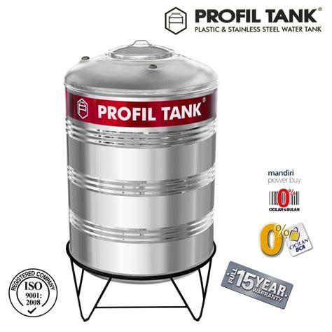Tangki Air Stainless Profil Tank Ps 6000 Kaki Toren Tandon profil tank ps 550 toko perlengkapan kamar mandi