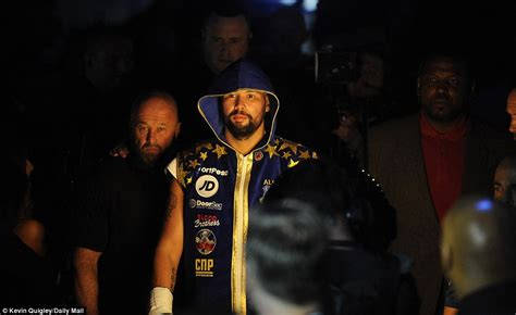 theme song z cars in control tony bellew beats david haye in 5th round tko