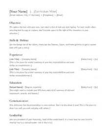 Microsoft Office Templates Resume Health Symptoms And