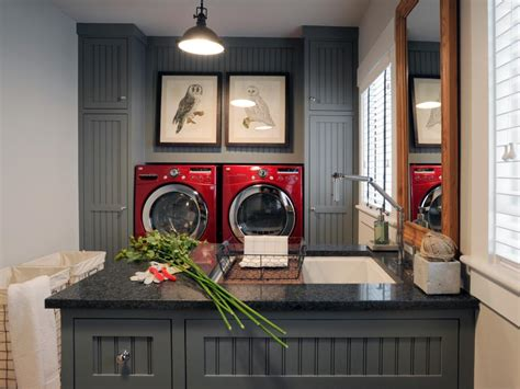 Our Favorite Laundry Rooms From Hgtv Home Giveaways Hgtv How To Decorate A Laundry Room