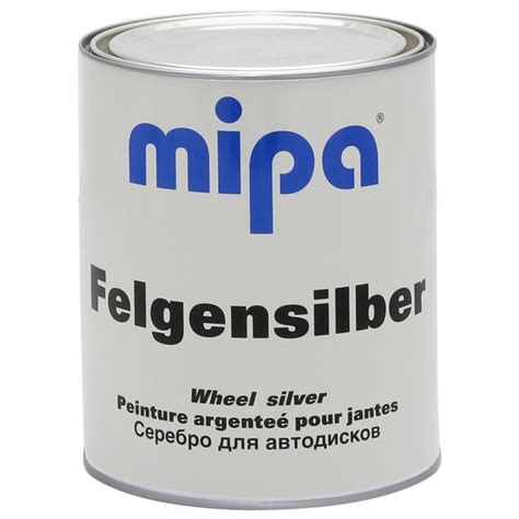 felgen lack 123lack shop felgensilber mipa spezieller lack f 252 r stahl und