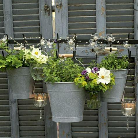 Blumentopf Hängend Selber Machen by 24 Coole Vintage Blument 246 Pfe Im Garten Einbauen
