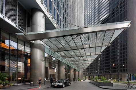Houston Awnings Trump Tower Entrance Canopy Som Architecture