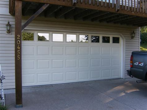 insulated garage doors with windows how to develop windows to my own garage door sn desigz