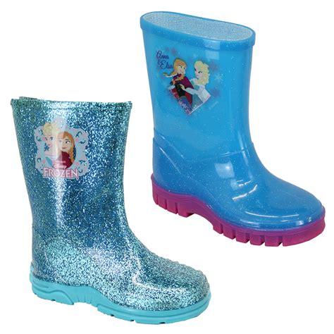 frozen boots boots disney frozen blue glitter wellies wellington