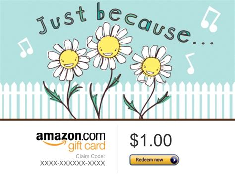Free 1 Dollar Amazon Gift Card - free amazon 1 dollar gift card code low gin other listia com auctions for free stuff