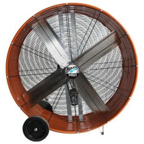 home depot drum fan maxxair 42 in industrial heavy duty 2 speed belt drive