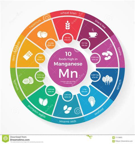 alimenti con manganese 10 alimenti alti in manganese infographics di nutrizione