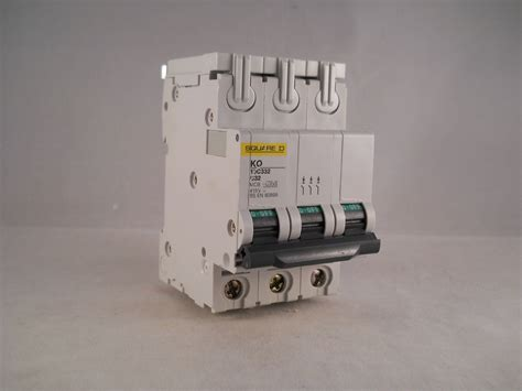 Mcb 32 A 3 Phase square d mcb 32 pole 3 phase breaker type c 32a