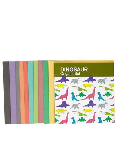 Dinosaur Origami Set - gifts dinosaur origami set at asos