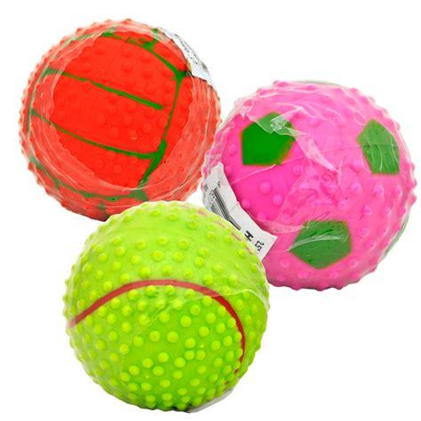 rubber balls howard sport rubber balls 2 5 quot assorted balls healthypets