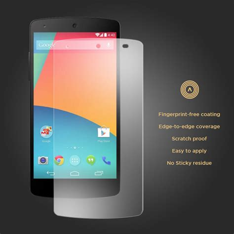 Tempered Glass Nexus 5 9h tempered glass screen protector for nexus 5